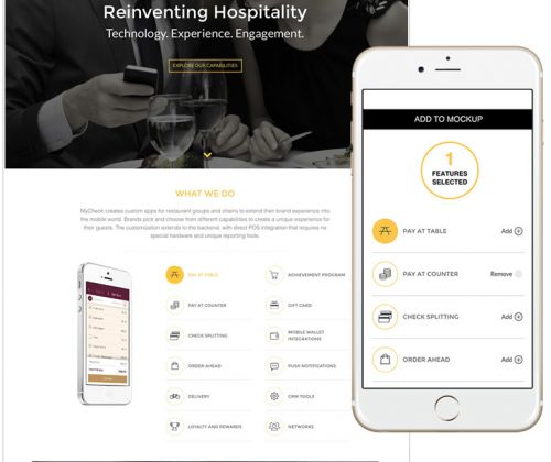 mycheck-home-mobile-website-design